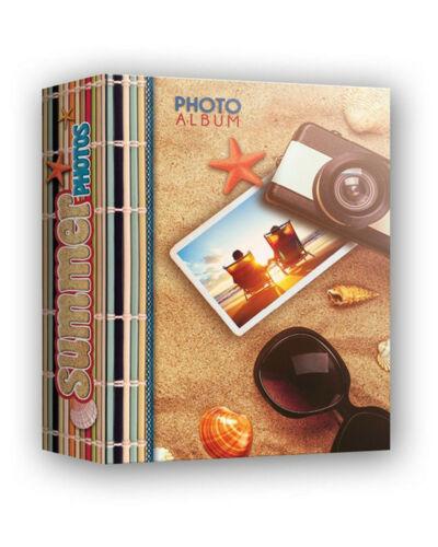 ZEP ALBUM PER FOTOGRAFIE A TASCHE  PER CENTO FOTO 10 X 15 SERIE SUMMER NUOVO