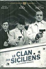 DVD - LE CLAN DES SICILIENS avec JEAN GABIN, ALAIN DELON, LINO VENTURA / NEUF