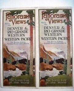 1930-40-039-s-034-Denver-amp-Rio-Grande-Western-Pacific-Railroads-034-Travel-Brochure