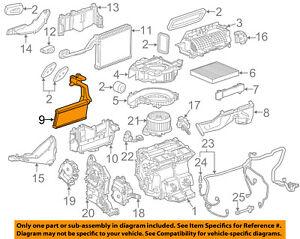 Brilliant Cadillac Gm Oem 13 17 Ats Hvac Heater Core 22799386 Ebay Wiring 101 Louspimsautoservicenl