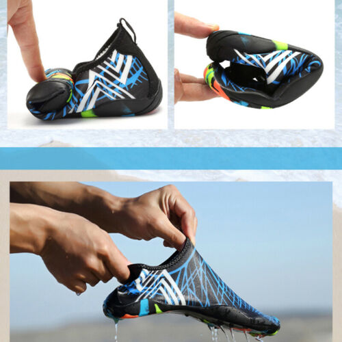 Men Women Waterproof Print Shoes Outdoor Fitness Gym Running Sports Shoes B