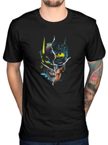 Official Batman Gotham Face T-Shirt Joker Robin Catwoman Pengiun