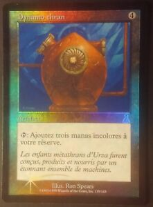 Dynamo-Thran-Urza-PREMIUM-FOIL-VF-French-Thran-Dynamo-Magic-mtg-NM