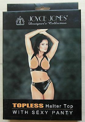 Joyce In Topless Halter Top Jones Con Sexy Panty-taglia Unica Si Adatta La Maggior Parte Nuovo Con Confezione-mostra Il Titolo Originale