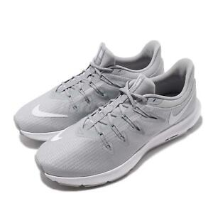 32acf8f2 Nike Quest Wolf Grey White Mens Running Shoes Sneakers AA7403-010 | eBay