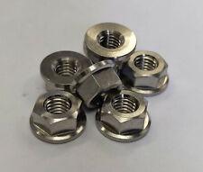 RacePro M5 x 8.5mm x 1mm Gold 6x Titanium Washer GR5
