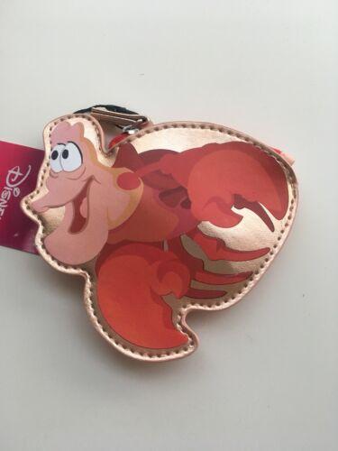 Disney 'Sebastian' The Little Mermaid Coin Purse Rose Gold BNWT