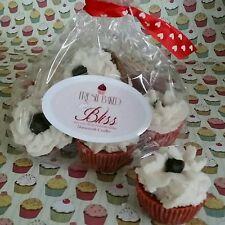 "Red Velvet Mini Cupcakes Wax Melts.  Dessert candles   ""Homemade"" Southern"