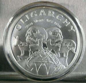 Trump Clinton Democrat Republican 1 Oz 999 Silver Shield