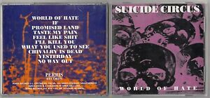 SUICIDE-CIRCUS-WORLD-OF-HATE-CD-1995-PERRIS-RECORDS-ROCK-METAL