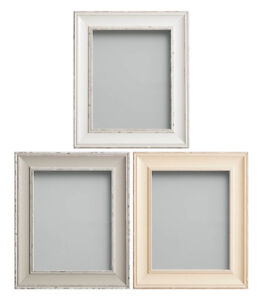 Image Is Loading Frame Company Brooke Range Large Rustic White Grey