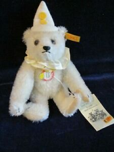 Steiff-Bear-029400-Mohair-Teddy-Clown-Historic-Miniatures-16cm-Jointed-S4