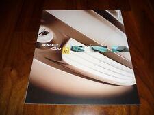 Renault Clio Zubehörprospekt 03/2004