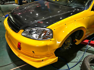 2pcs-For-Honda-Civic-EK9-4-Hatch-Back-MMStyle-Front-Fender-Wide-Body-Kit-FRP