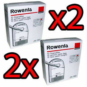 2x-ROWENTA-20-SACCHETTI-ORIGINALI-ZR760-EXTREME-AMBIA-PREMIO-PRESTY-SWING-OPUS