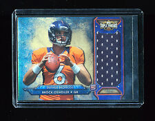 BROCK OSWEILER 2012 TOPPS TRIPLE THREADS BRONCOS JERSEY NUMBER RC 17/75 *RARE*