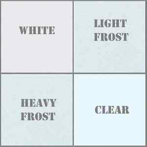 """FXLab European Made Gel Diffusion Sheets White Clear Frost 48"""" x 21"""" Film Club"""
