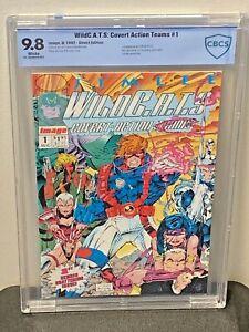 WildC-A-T-S-1-9-8-NM-MT-1st-WildCATS-appearance-Jim-Lee-Art-Image-92-CGC-lt-CBCS
