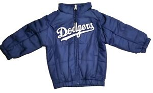 NWT-Majestic-Los-Angeles-Dodgers-MLB-Toddlers-Double-Climate-On-Field-Jacket