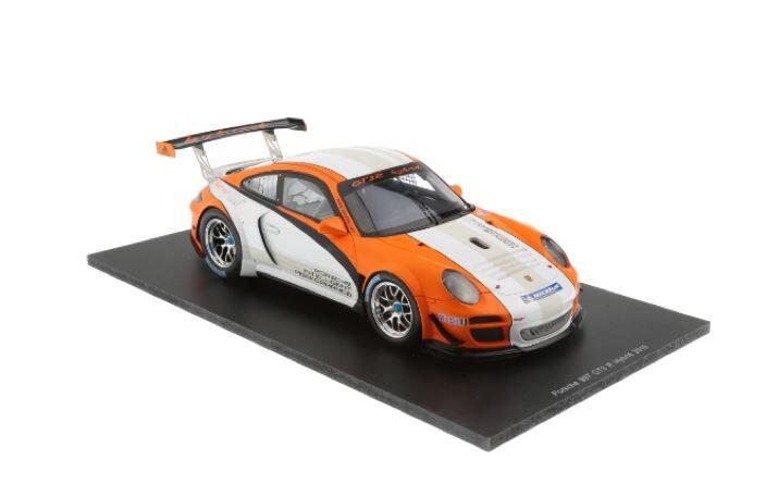 Spark 2010 Porsche 997 Gt3 R Hybrid S18059 1 18 Escala Nuevo Sellado   última