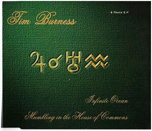 TIM-BURNESS-Infinite-Ocean-CD-EP-8-Tracks-U-K-Prog-Rock-Scarce
