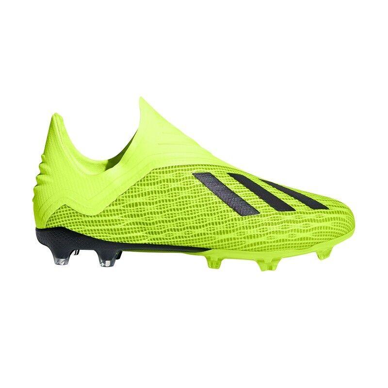 Adidas Performance X 18+ FG Junior neongelb -  Kinder Fußballschuhe DB2284    Shopping Online