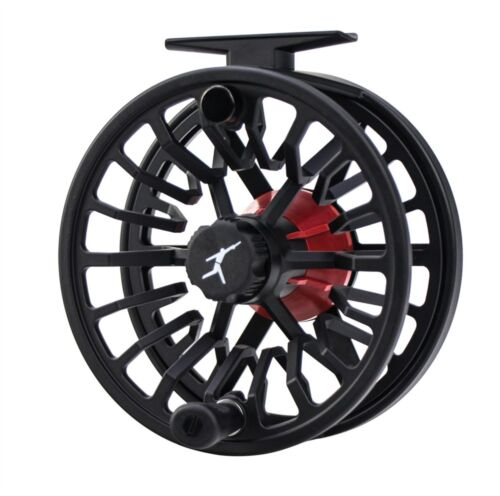 8 OR 9 WT FLY ROD ECHO BRAVO 7//9 LARGE ARBOR DISC DRAG FLY REEL BLACK FOR A 7