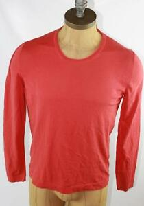 96b2ad65e AUTH $695 Gucci Men's Red Long Sleeve T Shirt M | eBay