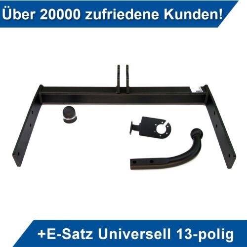 Für VW Transporter T5 Kasten//Minibus 09-15 Anhängerkupplung starr+ES 13p uni AHK
