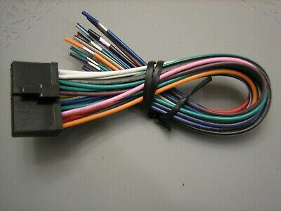 Power Acoustik Wire Harness For Pd 627b, Power Acoustik Wiring Harness