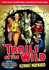 Vintage Western Double Feature Trails of The Wild/silver Trail Region 1 - DVD