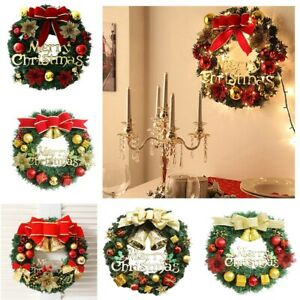 Christmas Wreath Wall Hanging Ornament Halloween Spring Festival Decoration