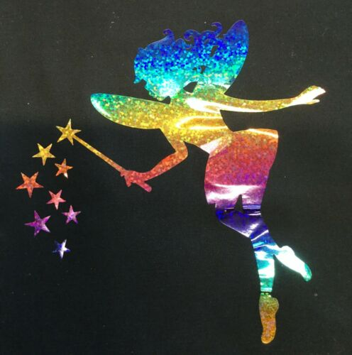 Fairy Unicorn Butterfly Sparkly T Shirt Transfer choice of designs /& sizes