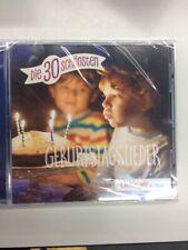 Artikelbild Die 30 schönsten Geburtstagslieder Audio-CD NEU OVP