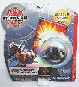Bakugan-PIERCIAN-TRAP-Black-Darkus-Battle-Brawlers-2009-NEW-Special-Attack