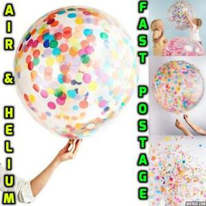 Round-Clear-Giant-BALLOON-Transparent-36-034-inch-Big-birthday-BALLONS-Any-Occasion