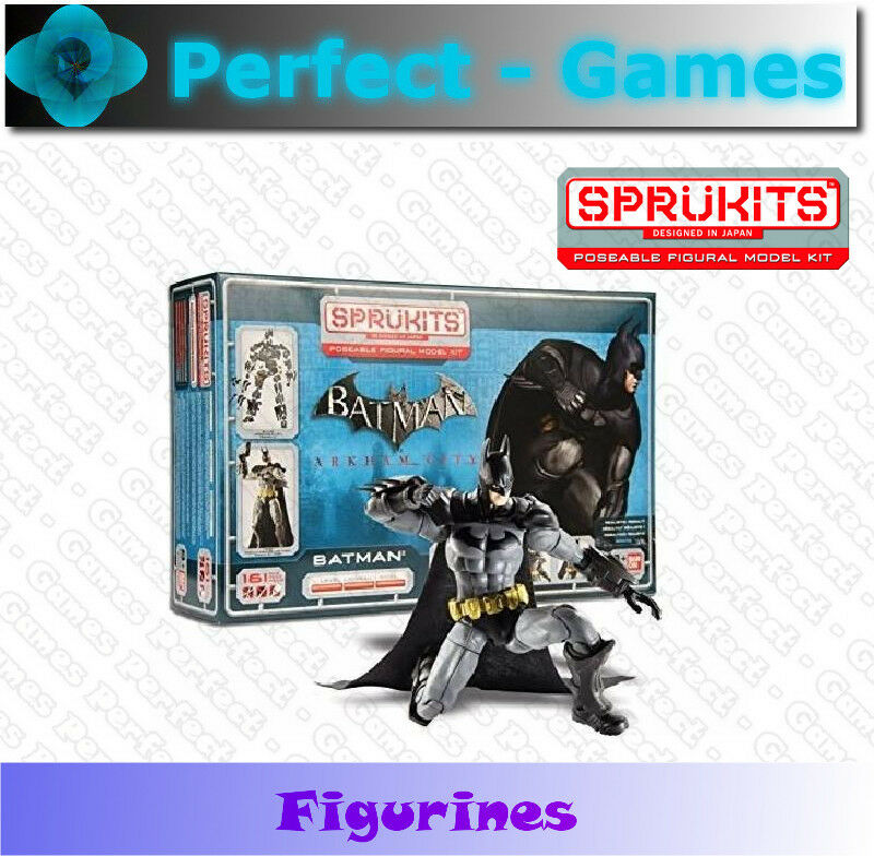 Sprukits Batman Arkham city Bandai figurine articulée niveau 3 collection kit