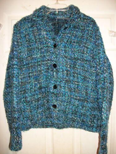 geweven Chico's 0 Jacket maat Multi Woven multi color color 0Chico's jas Size blauwe Blue zVqSGLUMp