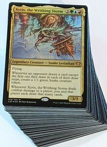 ***Custom Commander Deck*** Xyris - Snake Tribal - Wheels - EDH MTG Magic Cards