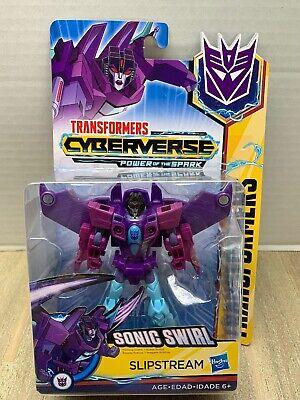 Warrior SONIC SWIRL SLIPSTREAM Transformers Cyberverse Power of the Spark 2019