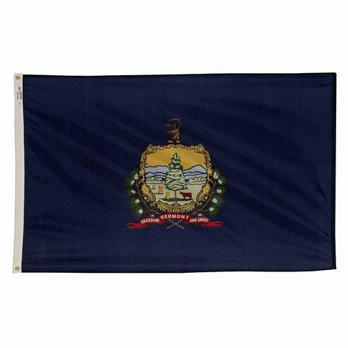 4x6 ft VERMONT The Grün Mountain State OFFICIAL OFFICIAL OFFICIAL FLAG OUTDOOR NYLON USA MADE 6d1ce6