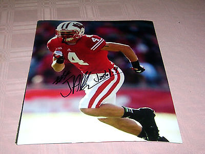 Jared Abbrederis Wisconsin Badgers signed 8x10 Photo NFL ...