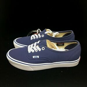 55c7f6abdb Image is loading Vans-Vault-Authentic-66-Lite-Schoeller-Crown-Blue-