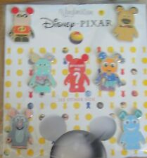 DISNEY Vinylmation Pixar Set - Sealed- 6 Pins + 1 Mystery Pin