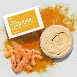 Turmeric Clay Mask Bleaching Skin Lightening Acne Scars ...