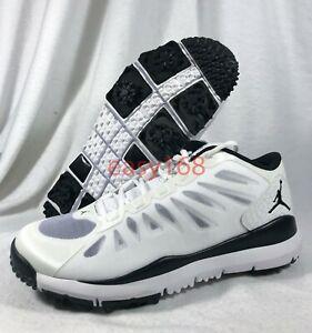 najlepszy design sprzedaż uk sprzedaż Details about New Nike Jordan Dominate Sz 9 Mens 42.5 Golf Shoes 707516  Tiger Cleats White TW