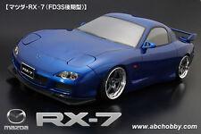 ABC HOBBY RC 1/10 Zero-One Super Body MAZDA RX-7 FD3S Clear Body Drift Hashiriya