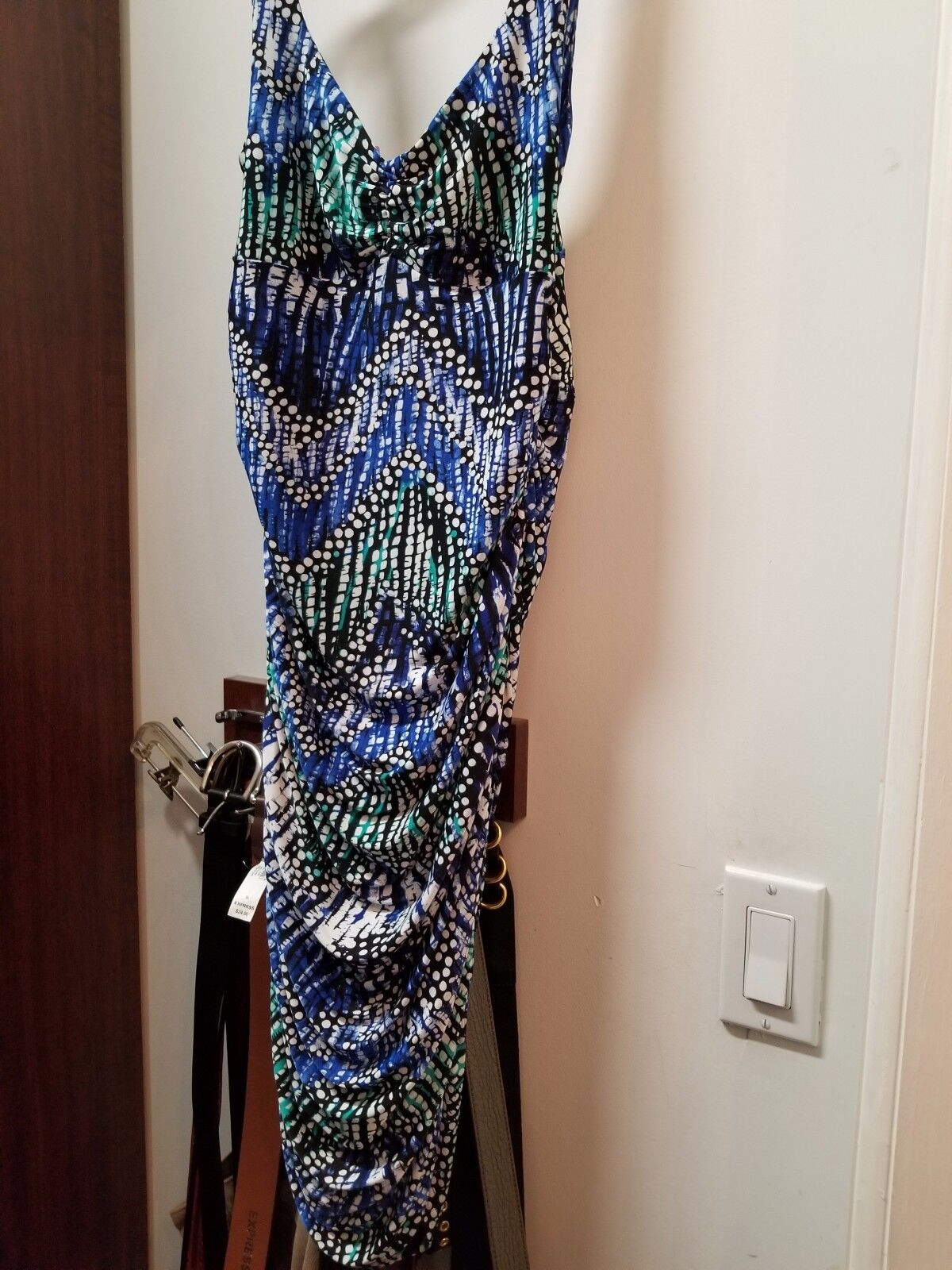 Veronica m multi colord dress in medium - NWT