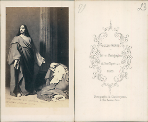 Religion-CDV-vintage-albumen-Tirage-albumine-6-5x10-5-Circa-1870-lt-div-s