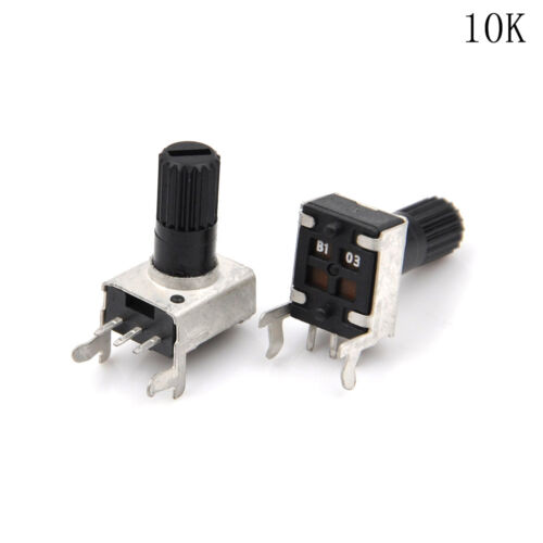 C 10pcs RV09 Art vertikales justierbares Potentiometer//variabler Widerstand5-10